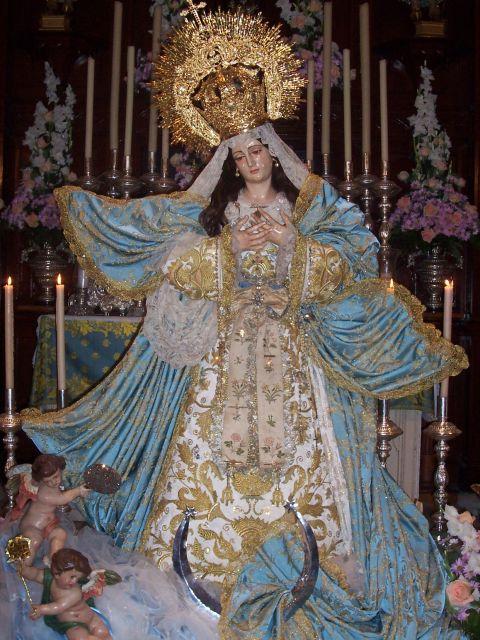 virgen del carmen coronada