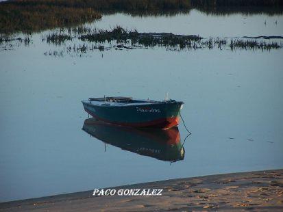 Barca en el Rio San Pedro