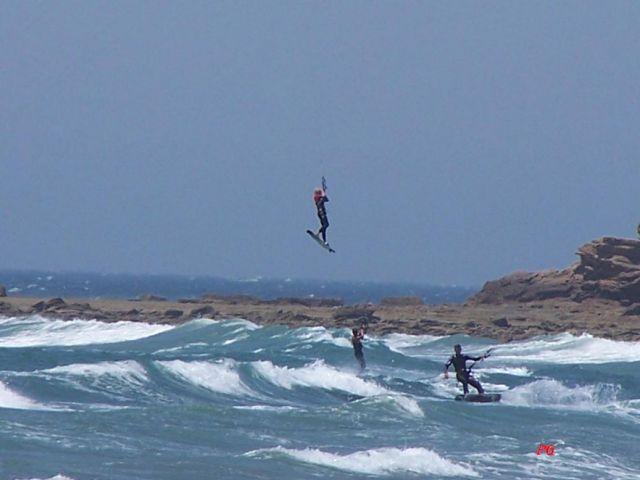 volando con el viento