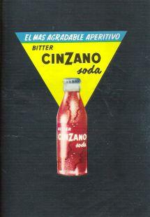 Anuncio Cinzano. Año 1956