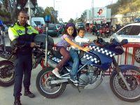 Claudia y Manuel Policías Locales en Feria