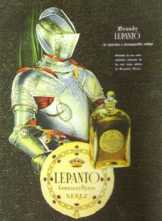 Anuncio LEPANTO. Año 1952