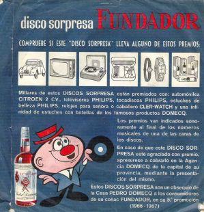 ENVÉS SINGLE FUNDADOR 1966/67