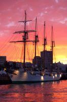 Elcano - Atardecer -