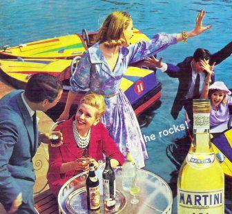 Anuncio martini del año 1962