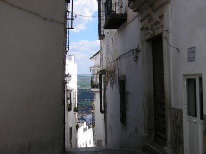 ua calle de arcos de la frontera