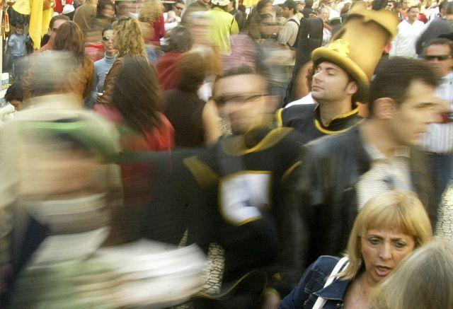 Foto arítistica en Carnaval