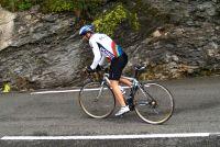 subida al #quot#aubisque#quot# el día de la etapa reina del tour de francia.