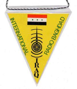 """Banderín: Baghdad""""Mundo-Radio""""Quique El Emigrante"""""""