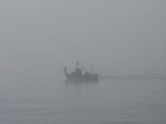 El barco en la niebla