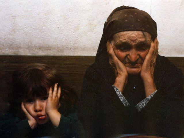 Cris y abuela