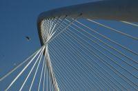 Puente Peatonal del Campo de Volantín, Bilbao.