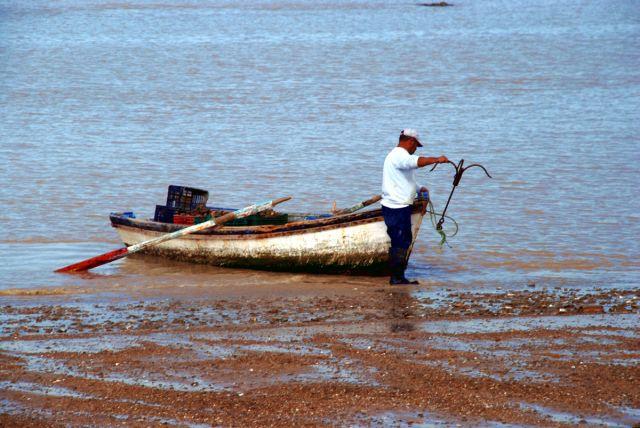 Mariscador de ostras (Sanlúcar de Barrameda)