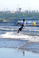 Fly surf en Valdelagrana Junio 2009