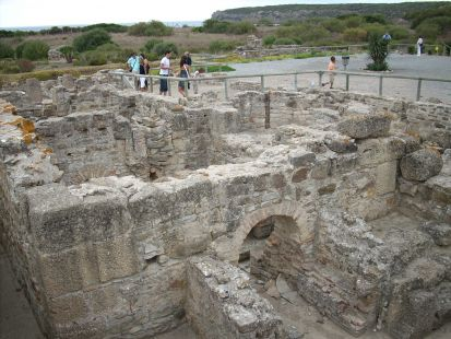 BAELO CLAUDIA (BOLONIA) Baños romanos