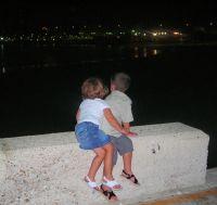 Noche romántica en la caleta