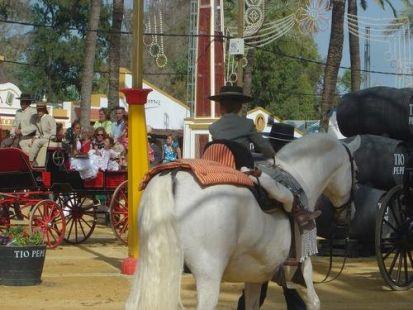 Viviendo la Feria desde peque�ito ....