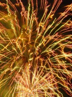Fuegos artificiales ...