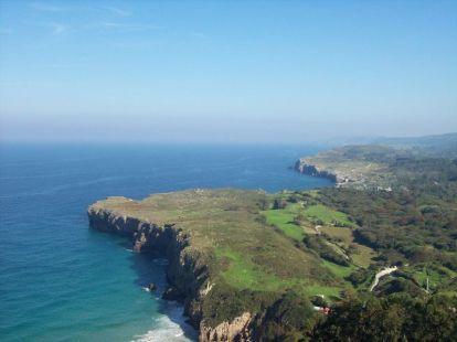 Vista desde La Boriza (Asturias)