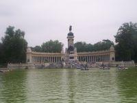Imagen del parque del retiro (Madrid)