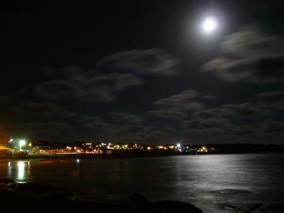 Noche en la PLAYA DE LOS PESCADORES