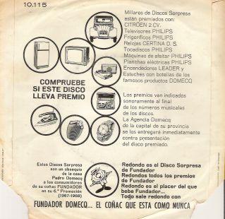 ENVÉS SINGLE FUNDADOR 1967/68