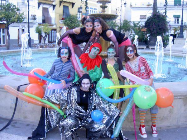 carnabal en sanlucar  foto de la plaza cabildo