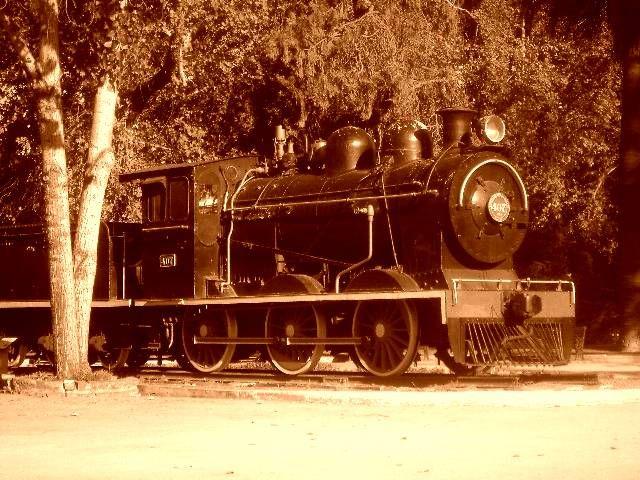 quinta normal museo de trenes