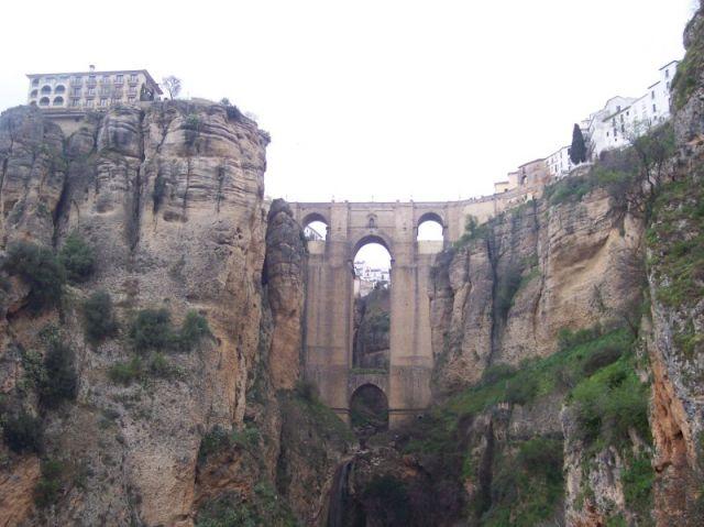 Vista de El Tajo ( Ronda)  fotos de Viajes