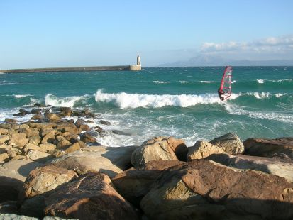 Windsurf en Tarifa.