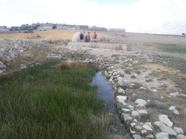 Nacimiento del rio Guadalquivir en Almeria