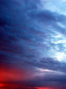 Cuando el sol se esconde la imaginación comienza a deslizarse