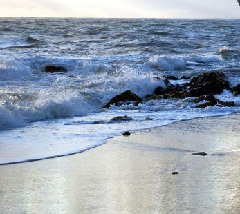 El susurro de las olas.