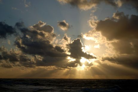 Las puestas de Sol me dan una gran paz, me muestran que es posible ser libre.