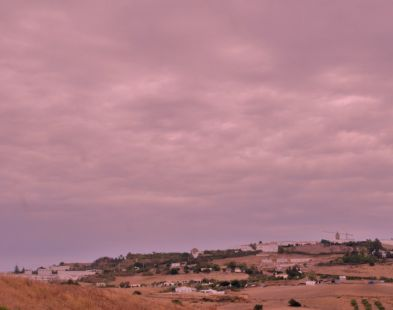En camino del Valle Del Algar.