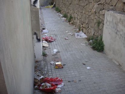 Limpieza en una ciudad de 1ª