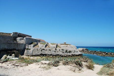 Tarifa: Fortaleza de la Isla Las Palomas