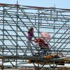 Construcción de la nueva estación de FFCC