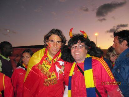 Rafa Nadal y J. Mª Borrell