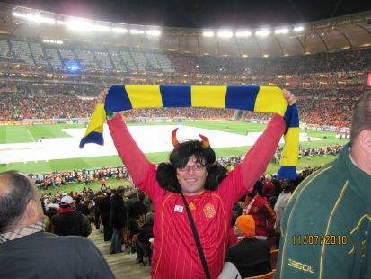 Un gaditano en Soccer City