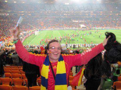 Una gaditana en Soccer City