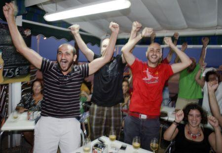 Celebrando el Mundial