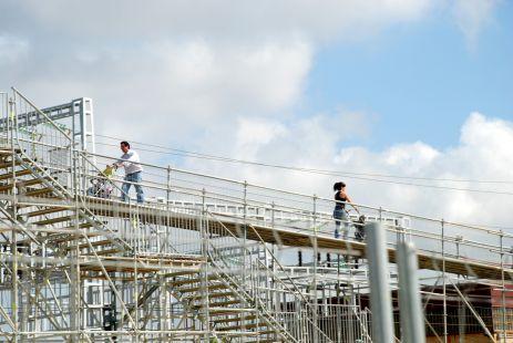 Construcci�n: Nueva estaci�n FFCC