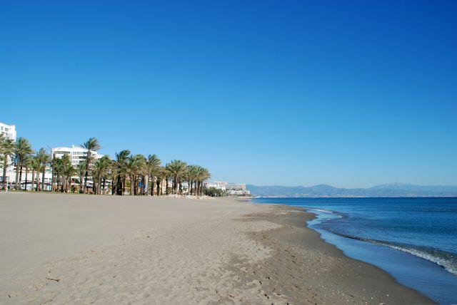Playa de Torremolinos (Diciembre 2010)
