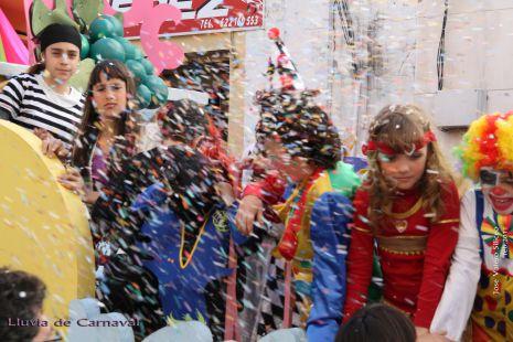 Lluvia de Carnaval 2011