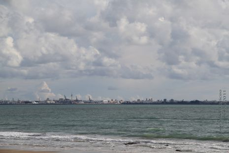 La tarde de hoy por Cádiz