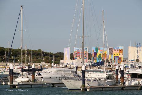 Colorido en Puerto Sherry