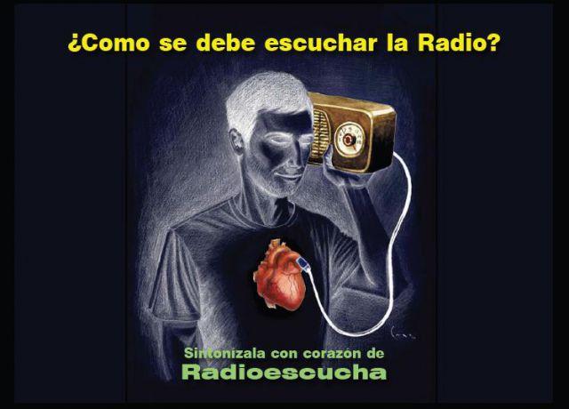 COMO SE DEBE ESCUCHAR LA RADIO