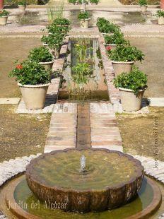 Patio Alcázar de Jerez