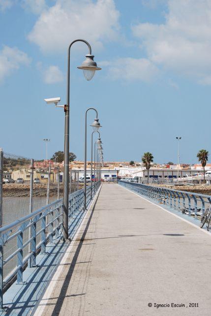 Muelle de Gallinera